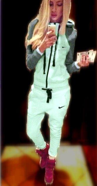 tights mint nike hoodie nike mint green tracksuit nike sport suit nike sport suit green nike hoodie suit aqua aqua blue nike gray and green nike logo green tracksuit green joggers casual suit sports suit nike preppy preppy tracksuit activewear sweatpants fitness fitness pants nike tights tight girly girly wishlist musthave must-have adidas tick logo logo sweater logo hoodie zipper jacket zipper hoodie zip nike jumpsuit leggings romper sweater mint nike nike mint gray nike mint green nike hoodie grey nike hoodie black  grey white green nike nike sports suit nike sweatpants grey nike jogging nike jogging suit nike sweater nike sweatshirt dark grey nike sweatpans black nike logo sweater activewear pants joggers pants nike leggings