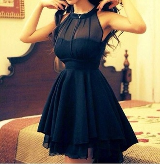 dress mesh black dress sleeveless dress