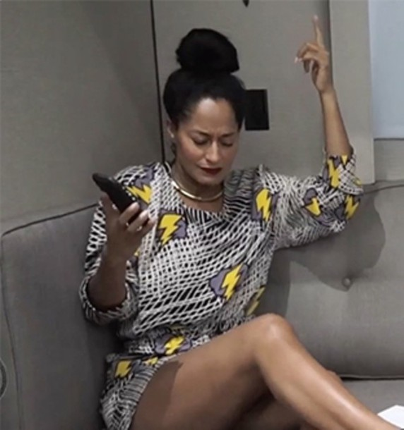 jumpsuit traceeellisross lighting yellow black and white