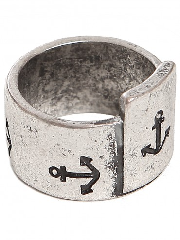 Anchor Stamp Ring - Rings - Jewelry - Accessories | GYPSY WARRIOR