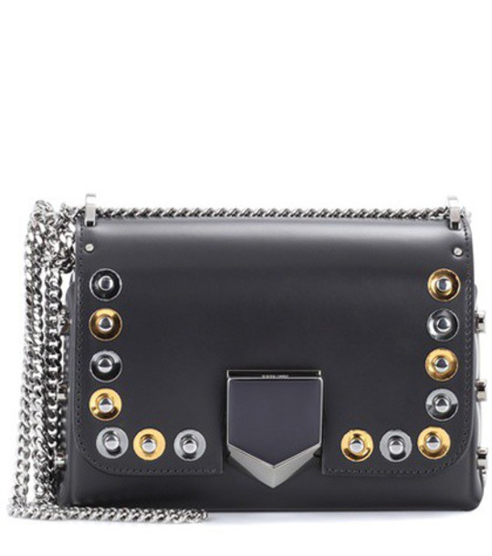 Jimmy Choo bag shoulder bag leather black