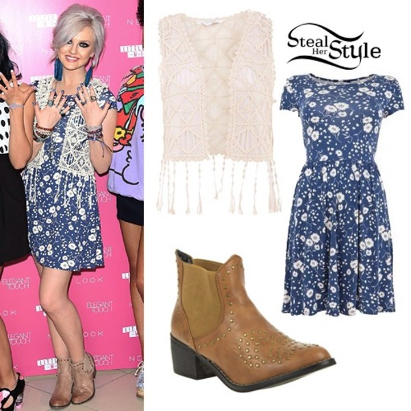 dress sweater little mix perrie edwards
