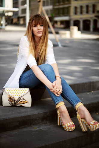 kayture jeans shoes bag jewels jacket shirt