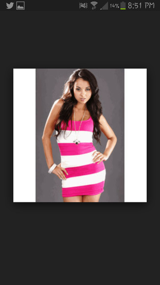 fitted dress pink dress