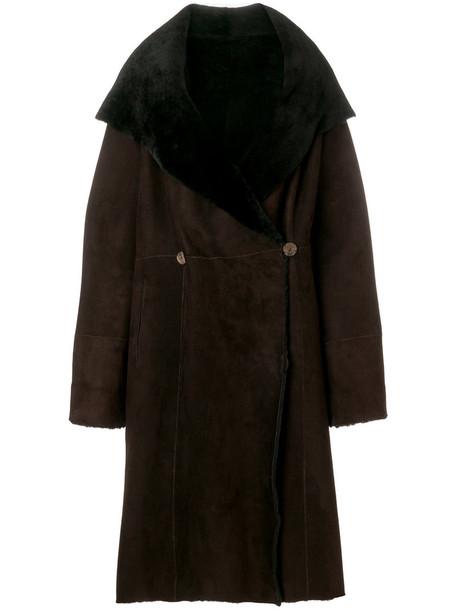 Liska coat fur women brown