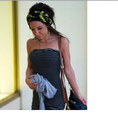 dress,tube dress,stripes,clothes,hippie,boobtube,striped dress,lara carew jones