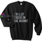 Cooler on internet sweatshirt gift sweater adult unisex cool tee shirts
