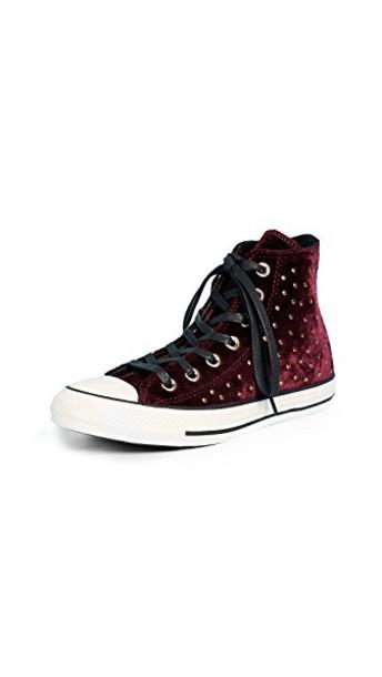 converse high sneakers high top sneakers dark black shoes