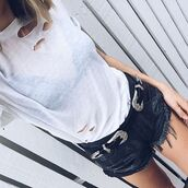 belt,nastygal,vintage,silver,festival,black,leather,buckles,levi's,style,streetstyle,ripped