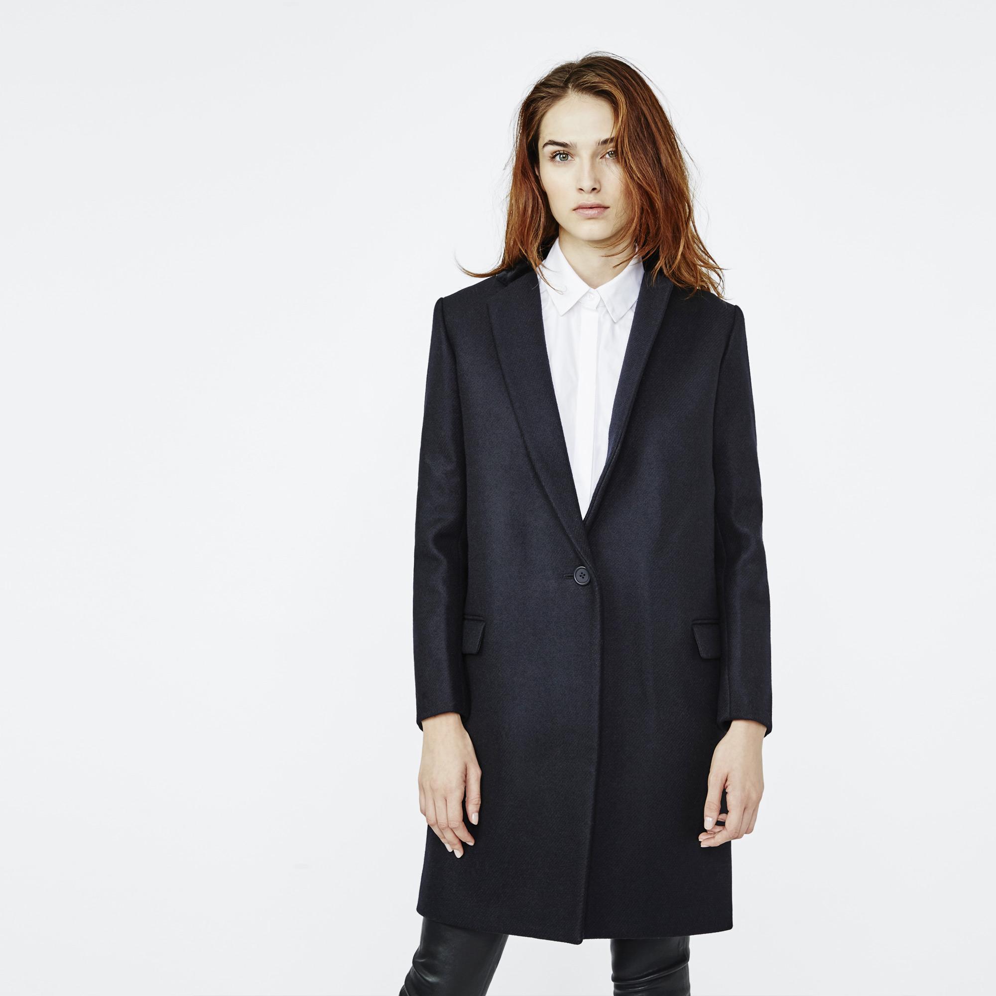 style wool coat - Sale - Maje.com