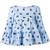 Blumarine - Printed tiered blouse - women - Cotton/Spandex/Elastane - 38, Blue, Cotton/Spandex/Elastane