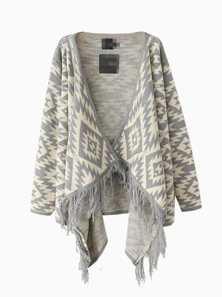 Geometry Blanket Wrap In White | Choies