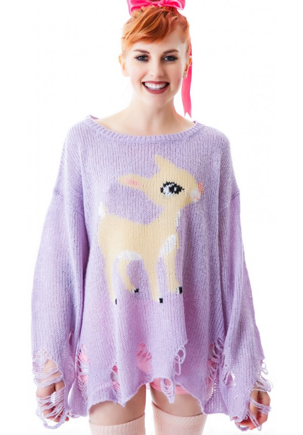 Wildfox Couture Rudolph Lennon Sweater | Dolls Kill
