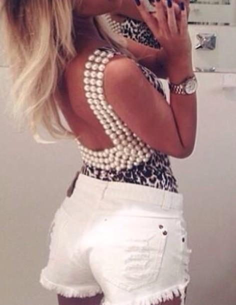 shirt leopard print