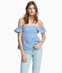 H&M Off-the-shoulder Top $24.99