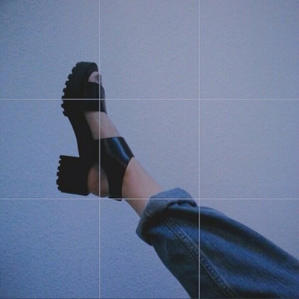 shoes grunge grunge shoes platform shoes platform sandals