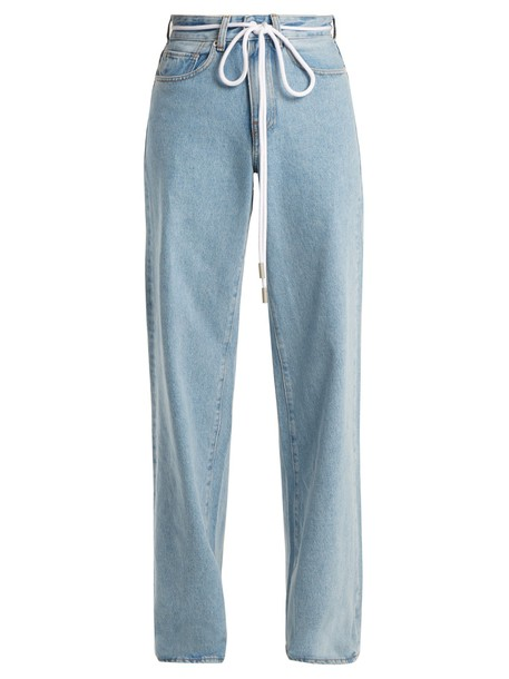 Off-White jeans high light blue light blue