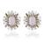 Pink Paris Stud Earrings