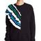 Msgm sweatshirt with crochet detail