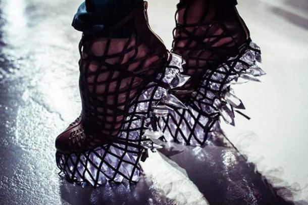 shoes iris van herpen infinity collection