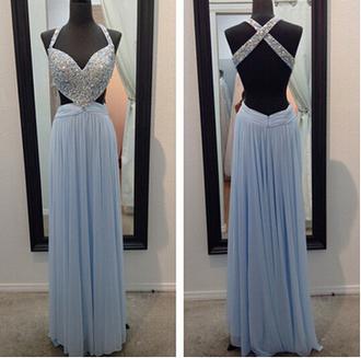 dress backless prom dress prom prom dress evening dress beading prom dresses chiffon prom dresses sexy evening dresses