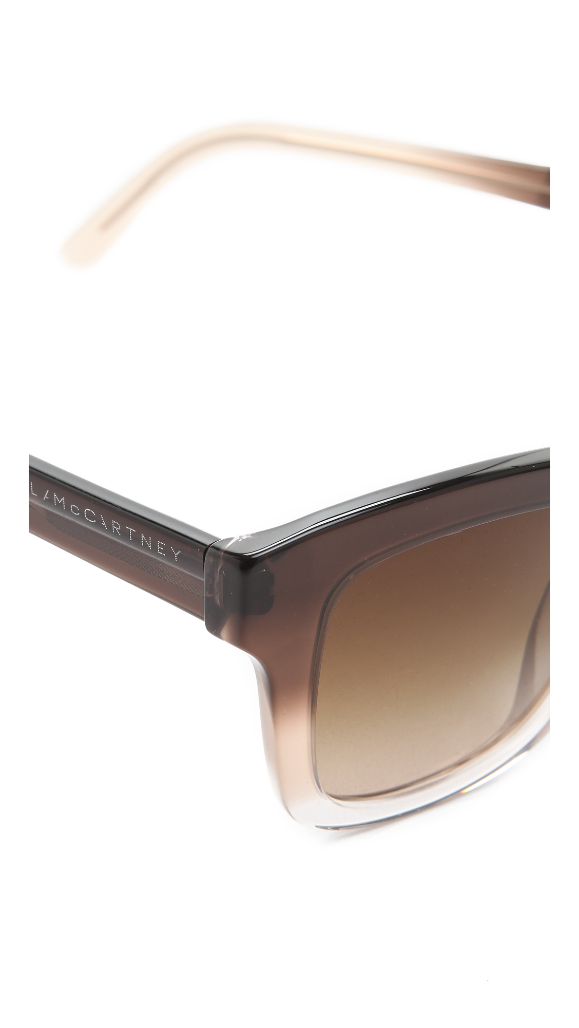 Stella McCartney Thick Square Sunglasses | SHOPBOP