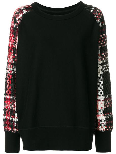 Rag & Bone jumper women cotton black pattern sweater