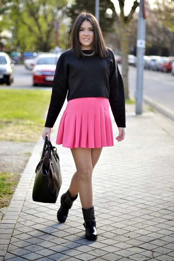 si las calles hablasen skirt shoes jewels bag
