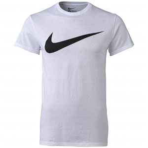 Nike soccer mens swoosh short sleeve tees