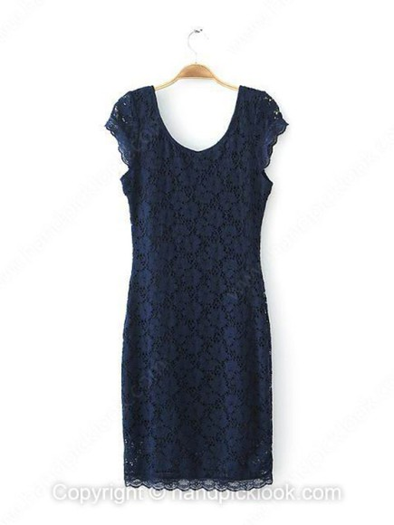 navy navy blue lace dress navy dress