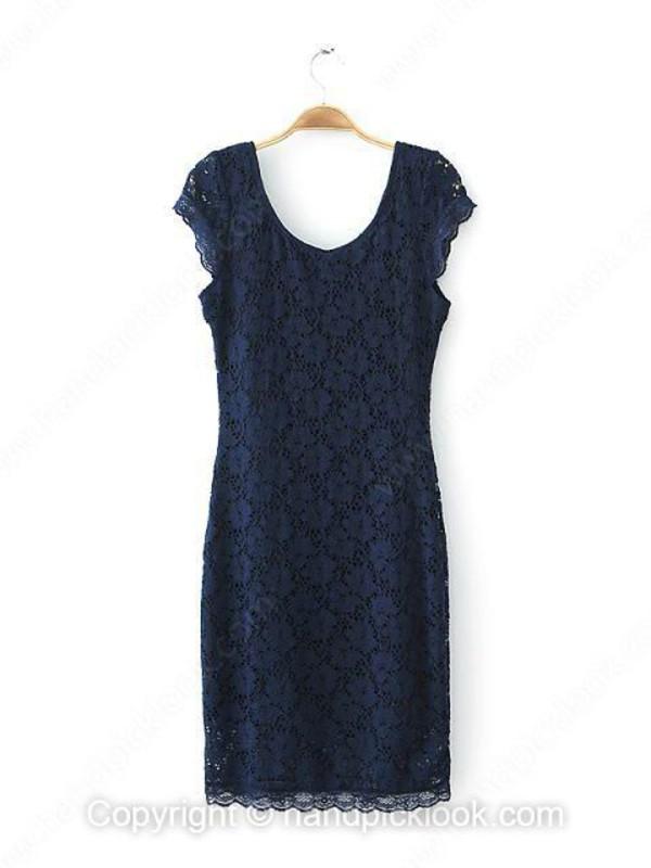 navy navy navy dress lace dress