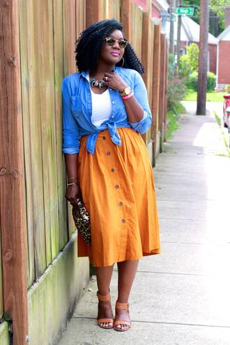 c's evolution of style - a fashion + lifestyle blog by chioma brown blogger pants jacket blouse jeans shirt skirt
