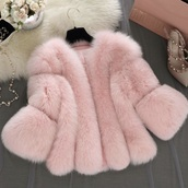 coat,pink,fluffy,fur,jacket,winter coat