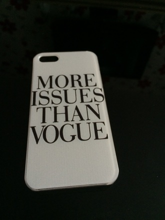 phone cover vogue iphone case white black style