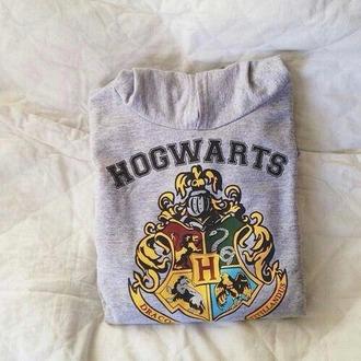 shirt hogwarts grey harry potter