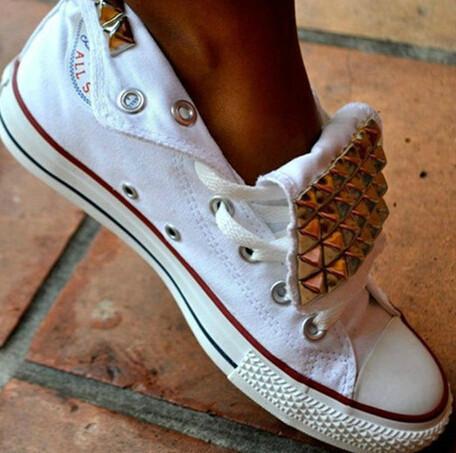 Rivets canvas shoes ss1110h