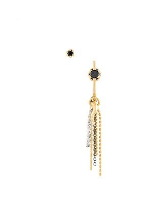 ring earrings silver metallic jewels