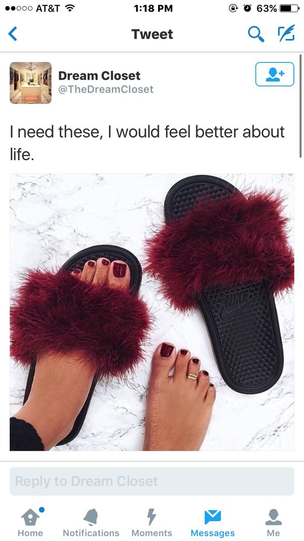 custom nike slippers