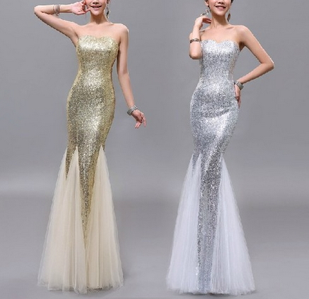 Mermaid Sweetheart Evening Dresses