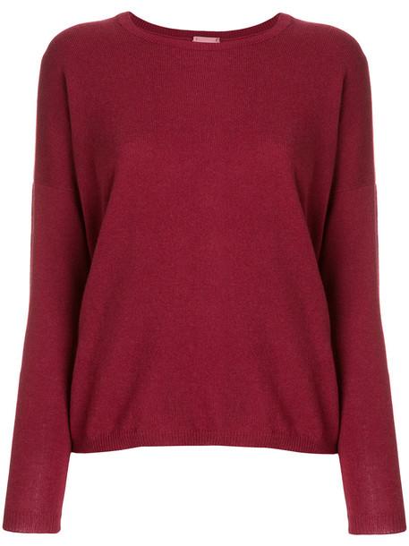 Alyki jumper women purple pink sweater