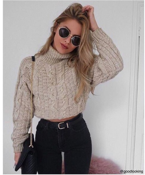 sweater vintage fashion toast fall outfits winter outfits sweaters cute print food yum wool grey