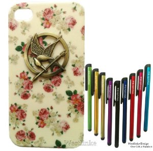 Amazon.com: shapotkina punk style mobile phone case for iphone 5 hunger games cell phone skin: cell phones & accessories