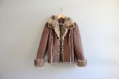 jacket,suede jacket,vintage suede jacket,suede fur jacket,shearling jacket,fur jacket,boho suede jacket,boho fur coat