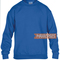 Blue blank sweatshirt unisex size s to 2xl | blue sweatshirt