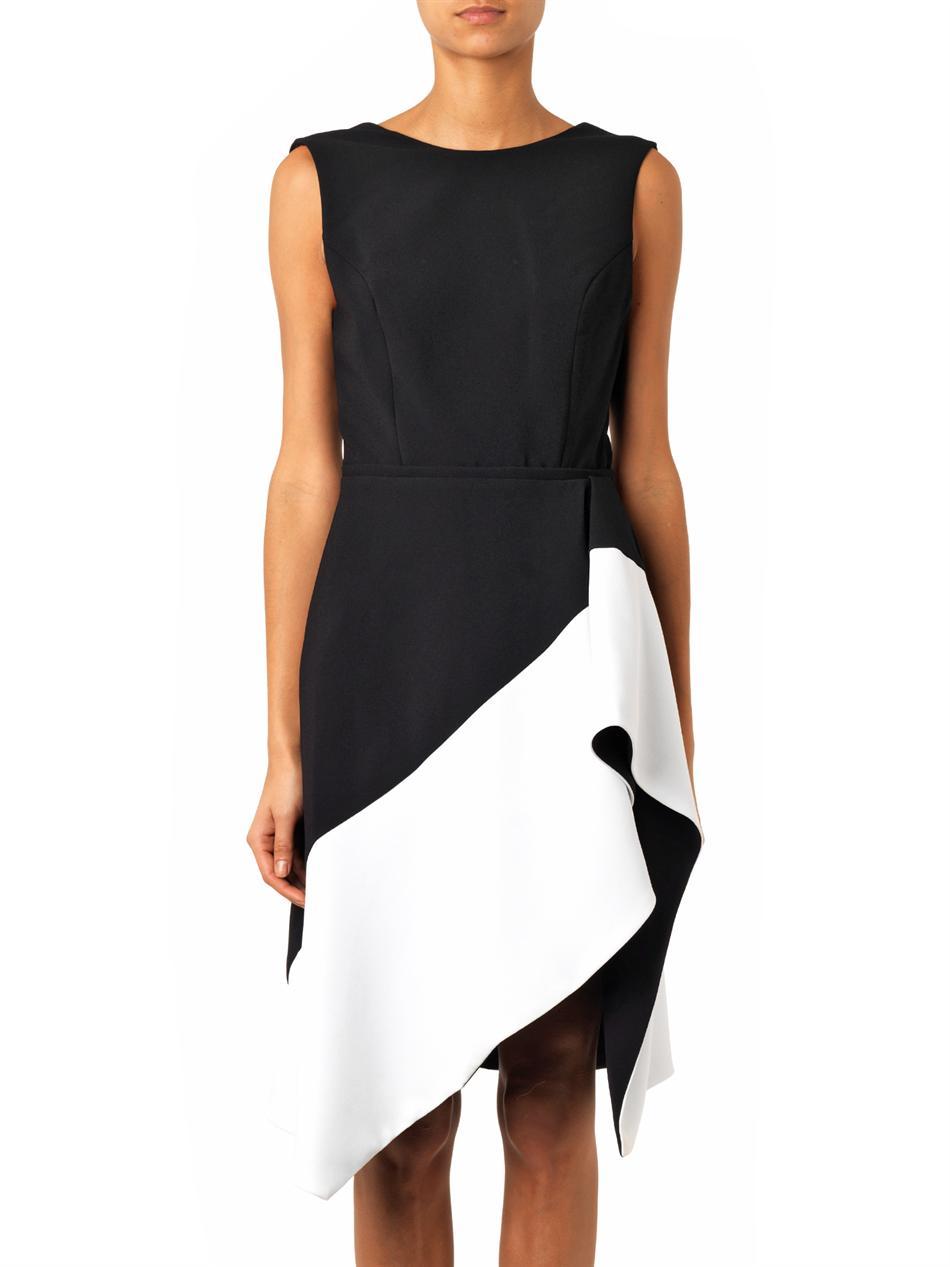 Bi-colour crepe dress | Camilla and Marc | MATCHESFASHION.COM