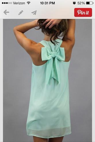 dress clothes pinterest mint shift bows bow back dress