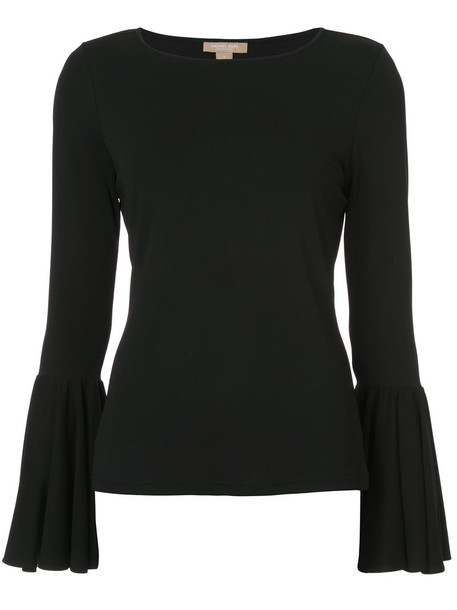 Michael Kors top women spandex black