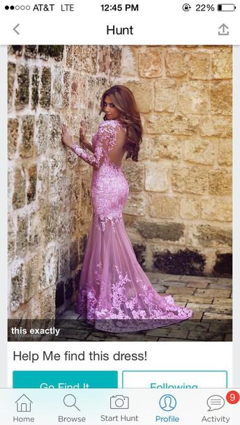 dress prom lace dress