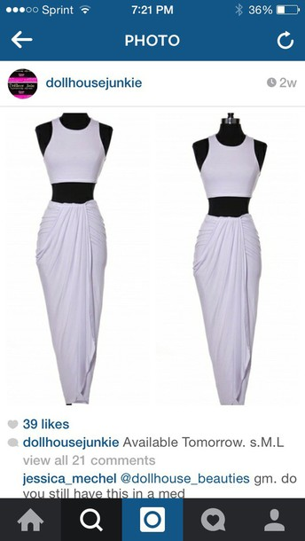 dress white 2 piece hat