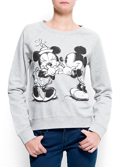MANGO - NEW - Disney sweatshirt